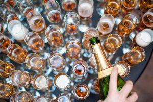 Cocktailbar bruiloft